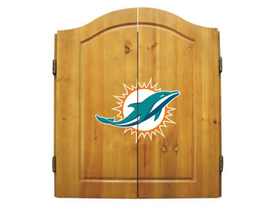 Miami Dolphins Imperial Dart Cabinet