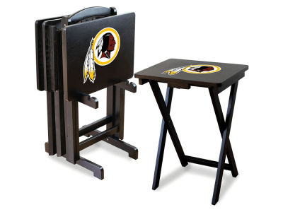 Washington Redskins Imperial TV Trays with Stand
