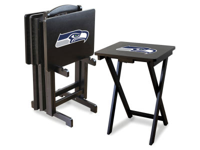 Seattle Seahawks Imperial TV Trays with Stand