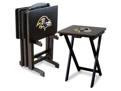 Baltimore Ravens Imperial TV Trays with Stand