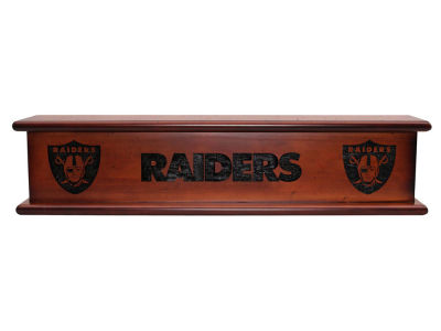 "Oakland Raiders Imperial 20"" Memorabilia Shelf"