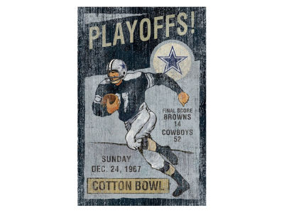 Dallas Cowboys Imperial Vintage Wall Art