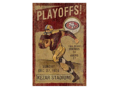 San Francisco 49ers Imperial Vintage Wall Art