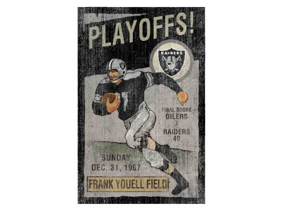 Oakland Raiders Imperial Vintage Wall Art