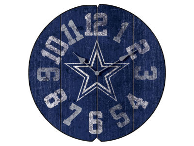 Dallas Cowboys Imperial Vintage Round Clock