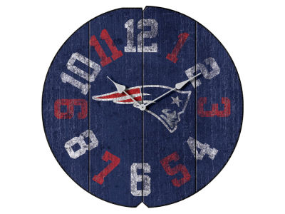 New England Patriots Imperial Vintage Round Clock