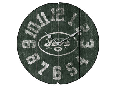 New York Jets Imperial Vintage Round Clock