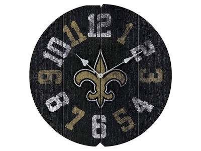New Orleans Saints Imperial Vintage Round Clock