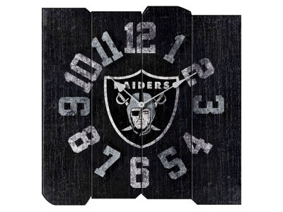 Oakland Raiders Imperial Vintage Square Clock