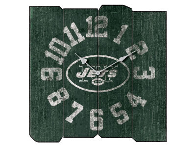 New York Jets Imperial Vintage Square Clock