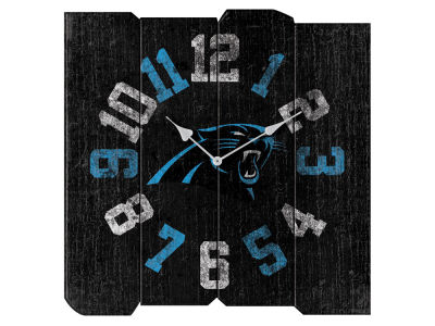 Carolina Panthers Imperial Vintage Square Clock