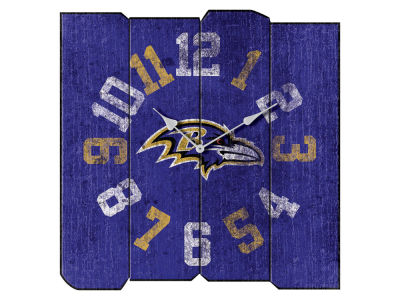 Baltimore Ravens Imperial Vintage Square Clock