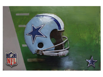 Dallas Cowboys Imperial Vintage Hand Crafted Metal Wall Art