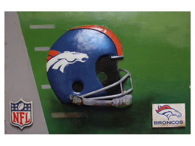 Denver Broncos Imperial Vintage Hand Crafted Metal Wall Art