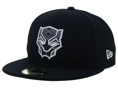 Marvel Black Panther Face 59FIFTY Cap