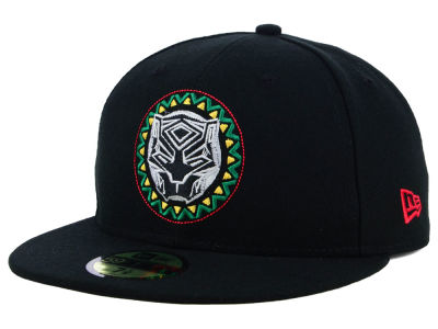 Marvel Black Panther Circle Logo 59FIFTY Cap