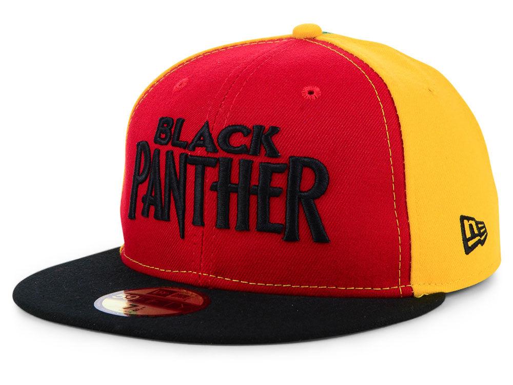 ... wholesale marvel black panther script 59fifty cap c0b1b a1366 715a6e26a2cd
