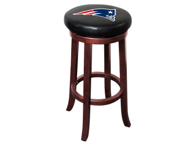 New England Patriots Imperial Wooden Bar Stool