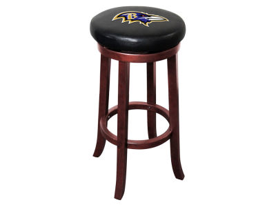 Baltimore Ravens Imperial Wooden Bar Stool