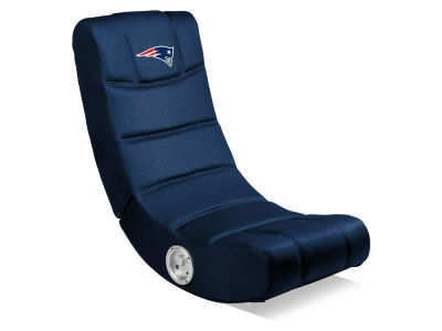 New England Patriots Imperial Video Chair with Bluetooth