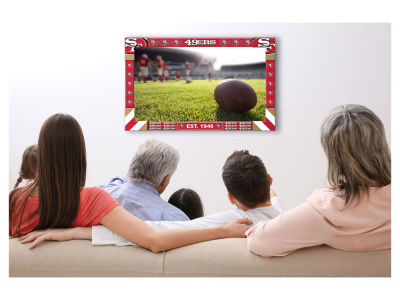 San Francisco 49ers Imperial Big Game TV Frame