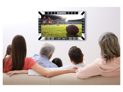 Oakland Raiders Imperial Big Game TV Frame