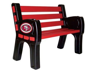 San Francisco 49ers Imperial Park Bench