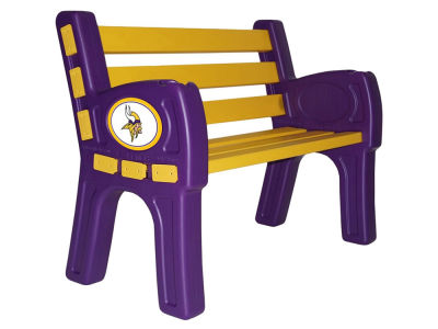 Minnesota Vikings Imperial Park Bench