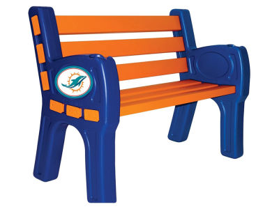 Miami Dolphins Imperial Park Bench