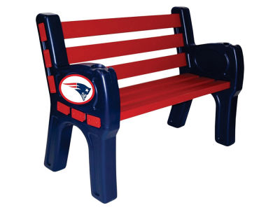 New England Patriots Imperial Park Bench