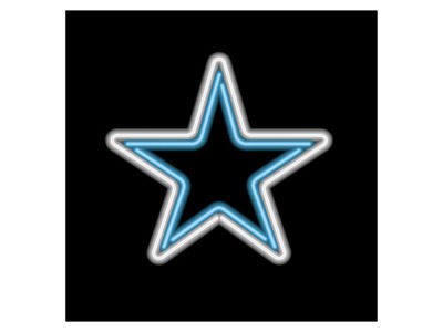 Dallas Cowboys Imperial Neon Light
