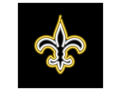 New Orleans Saints Imperial Neon Light