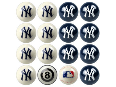 New York Yankees Imperial Home vs Away Billiard Ball Set