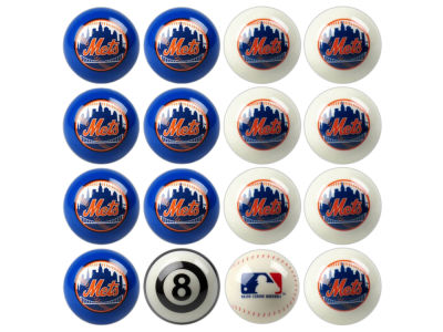 New York Mets Imperial Home vs Away Billiard Ball Set
