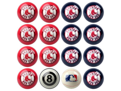 Boston Red Sox Imperial Home vs Away Billiard Ball Set