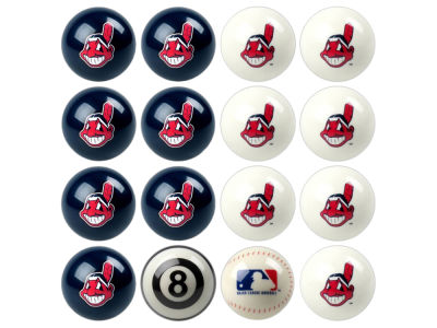 Cleveland Indians Imperial Home vs Away Billiard Ball Set