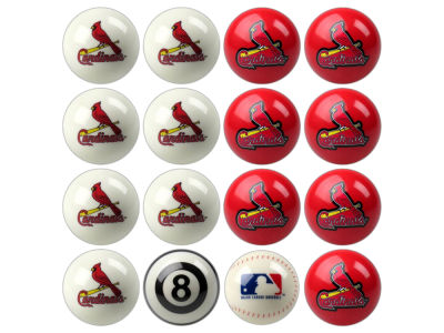 St. Louis Cardinals Imperial Home vs Away Billiard Ball Set
