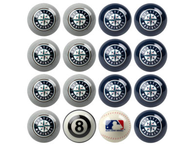 Seattle Mariners Imperial Home vs Away Billiard Ball Set