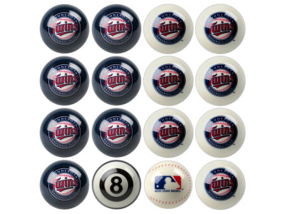 Minnesota Twins Imperial Home vs Away Billiard Ball Set
