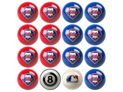 Philadelphia Phillies Imperial Home vs Away Billiard Ball Set