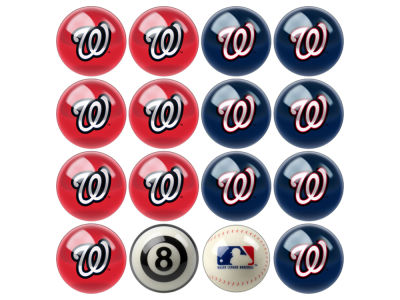 Washington Nationals Imperial Home vs Away Billiard Ball Set