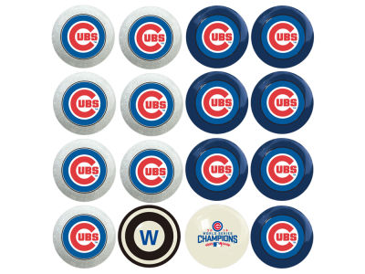 Chicago Cubs Imperial Home vs Away Billiard Ball Set