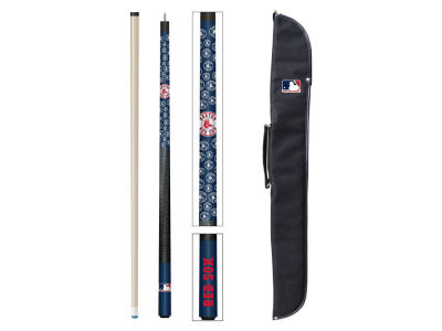 Boston Red Sox Imperial Cue and Case Combo Set