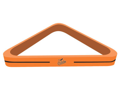 Baltimore Orioles Imperial Billiard Triangle