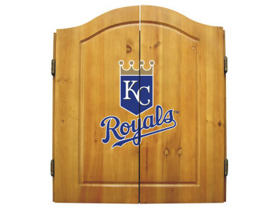 Kansas City Royals Imperial Dart Cabinet