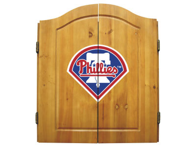 Philadelphia Phillies Imperial Dart Cabinet