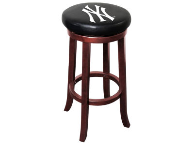 New York Yankees Imperial Wooden Bar Stool