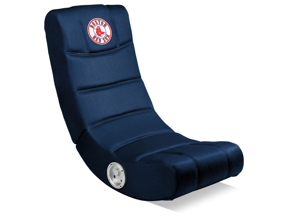 Boston Red Sox Imperial Video Chair With Bluetooth Lids Com