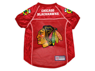 Chicago Blackhawks Sports Vault Pet Jersey-Medium