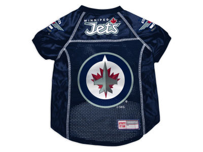 Winnipeg Jets Sports Vault Pet Jersey-Medium